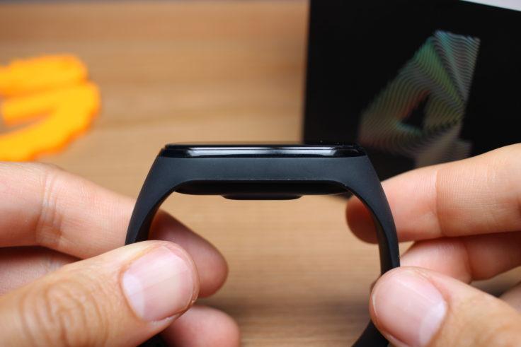 Xiaomi Mi Band 4 Seite Display