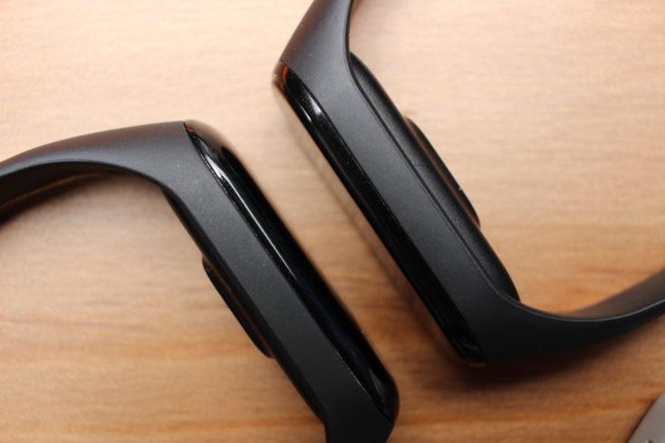 Xiaomi Mi Band 4 vs Mi Band 3 Glas