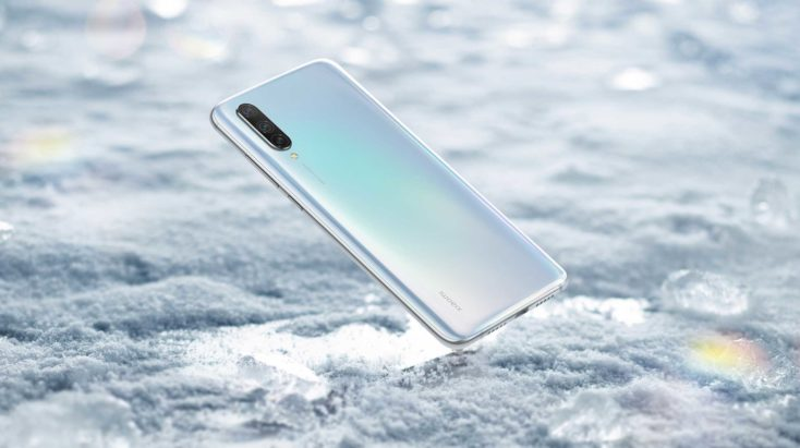 Xiaomi Mi CC9 Rueckseite Weiß