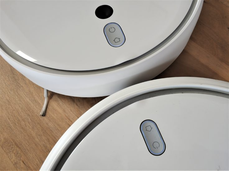 Xiaomi Mi Robot 1S Saugroboter Vergleich Design Mi Robot