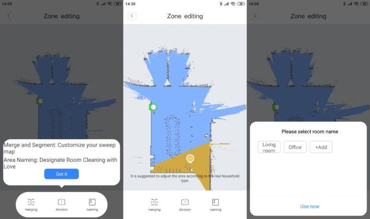 Xiaomi Mi Robot 1S Saugroboter Mi Home App Mapping Wischfunktion