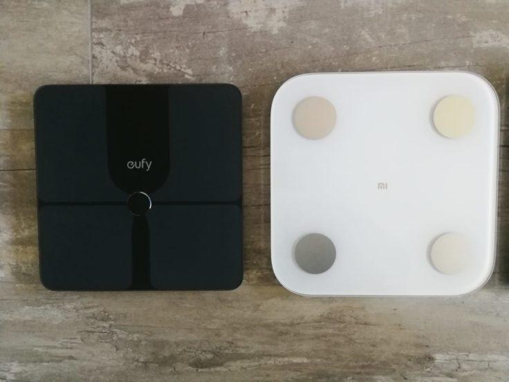 Xiaomi Mi Scale Personenwaage Vergleich eufy Smart Scale P1