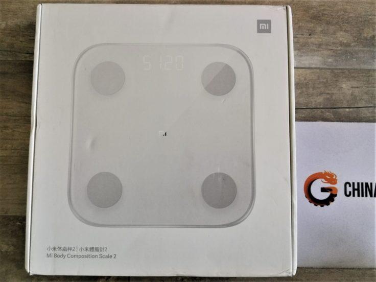 Xiaomi Mi Scale Personenwaage Verpackung