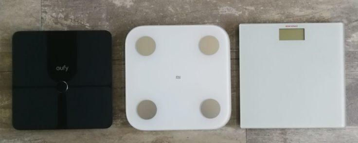 Xiaomi Mi Scale Personenwaage Waagen Vergleich
