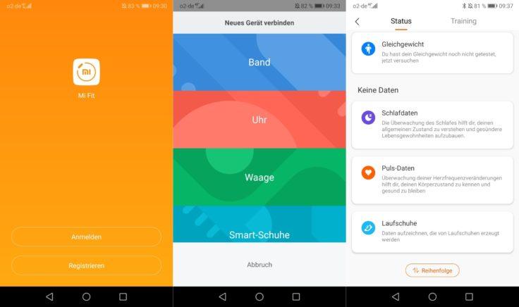 Xiaomi Mi Scale Waage MiFit App
