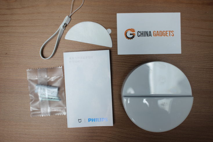 Xiaomi Mijia Bluetooth LED-Nachtlicht: Lieferumfang