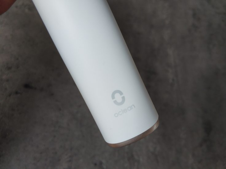 Xiaomi Oclean X Zahnbürste Logo