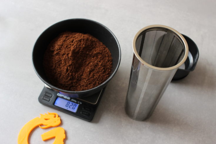 soulhand Cold Brew Zubereiter Filter mit Pulver
