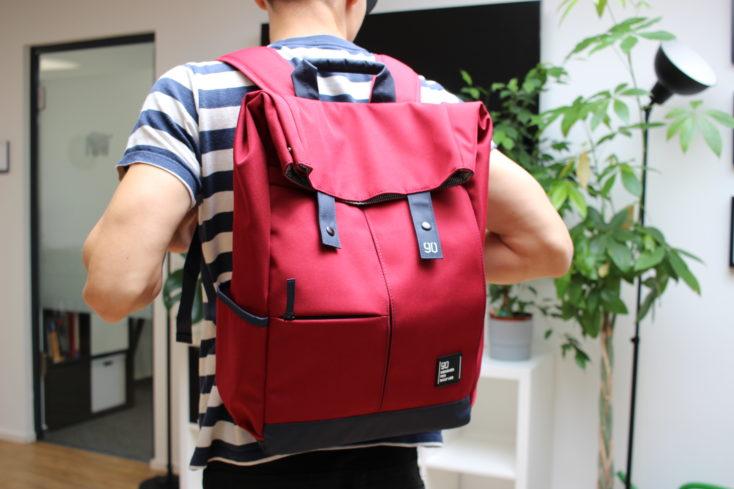 90Fun Rucksack rot ganz