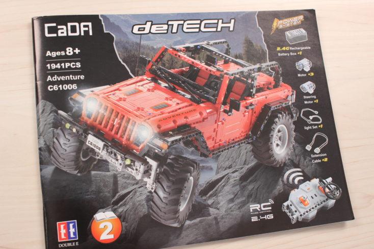 CaDA C61006 Off-Road-Truck Anleitung (1)