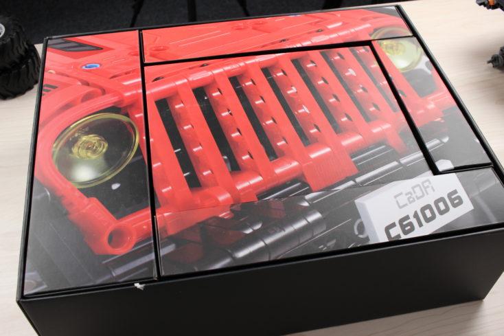 CaDA C61006 Off-Road-Truck Verpackung