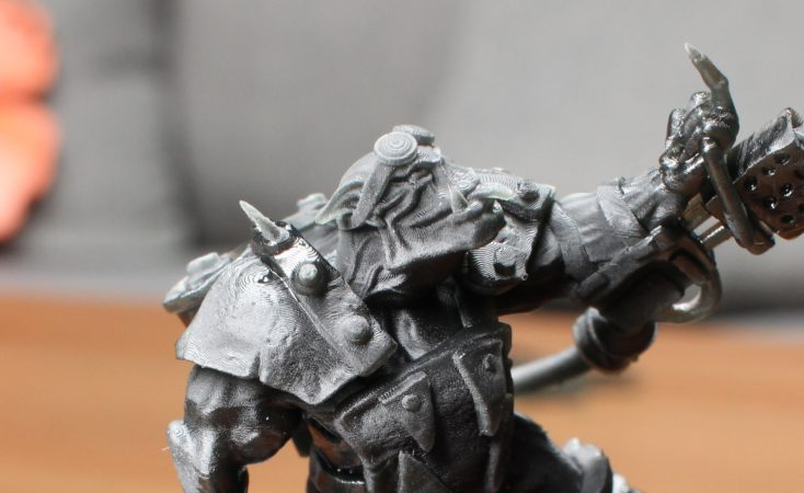 ELEGOO Mars Ork Print Support teilweise entfernt Details