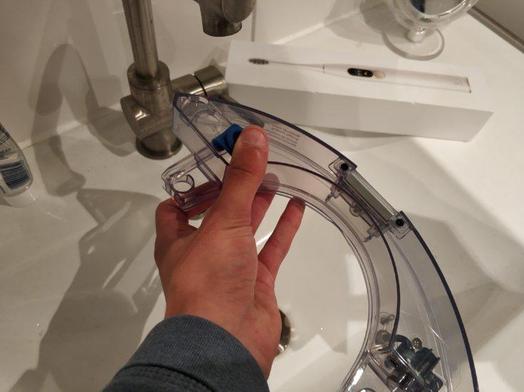 Ecovacs Deebot Ozmo 900 Saugroboter Wassertank auffüllen