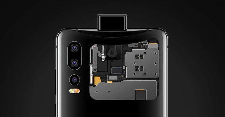 Elephone U2 Smartphone Pop-Up Kamera