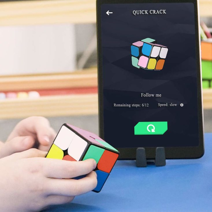 Giiker i2 Zauberwürfel mit Tablet und App