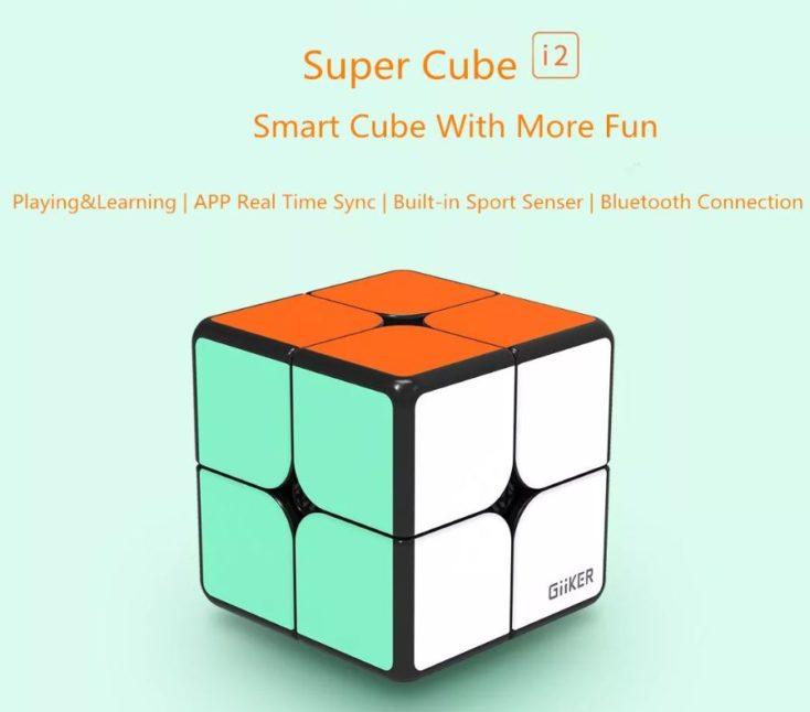 Giiker i2 Supercube 2x2x2 Zauberwürfel
