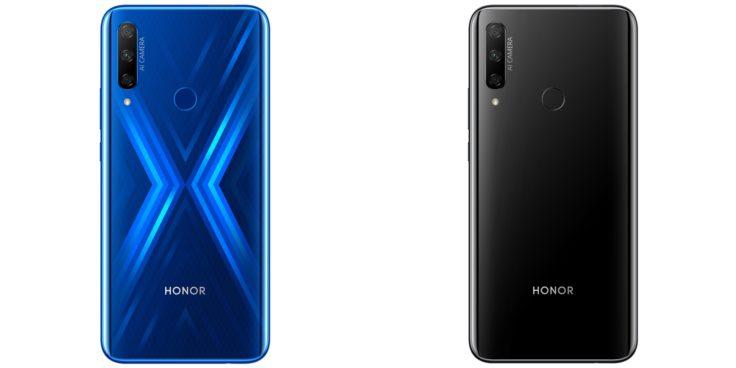 HONOR 9X_Sapphire Blue_schwarz