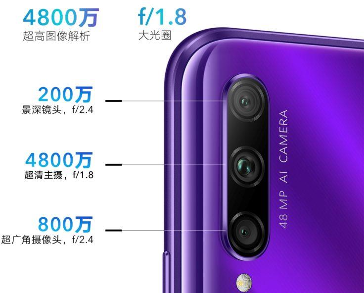 Honor 9x Kamera