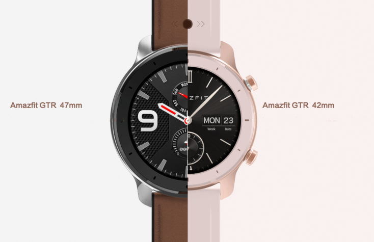 Huami Amazfit GTR 47 vs 42 mm