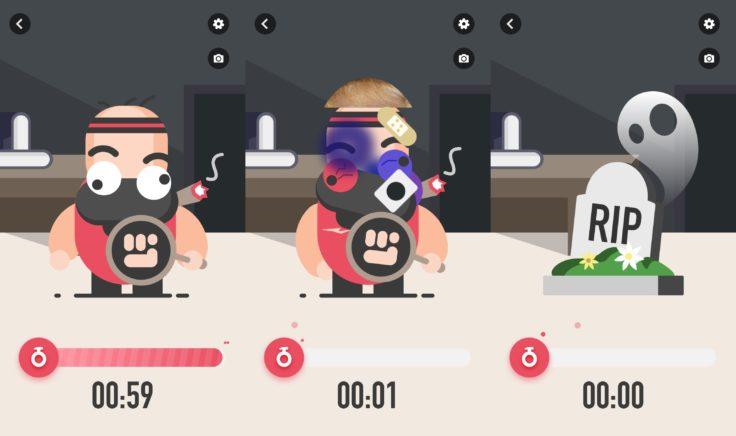 MoveIt Speed smarter Boxsack App Spielmodus