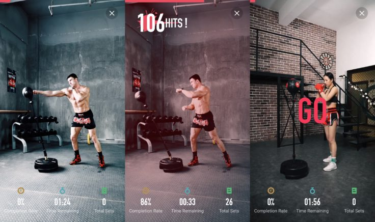 MoveIt Speed smarter Boxsack App Trainingsmodi