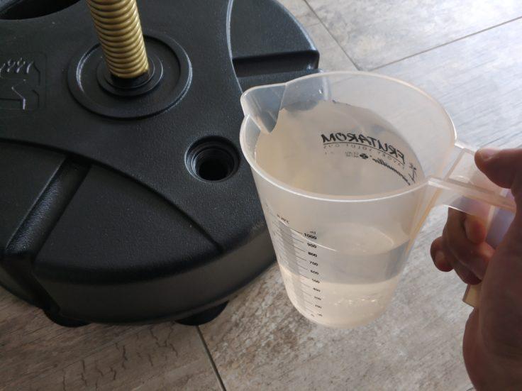 MoveIt Speed smarter Boxsack Wasser auffüllen
