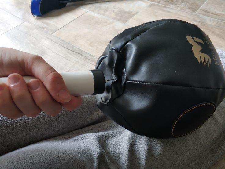 MoveIt Speed smarter Boxsack aufpumpen Luftpumpe