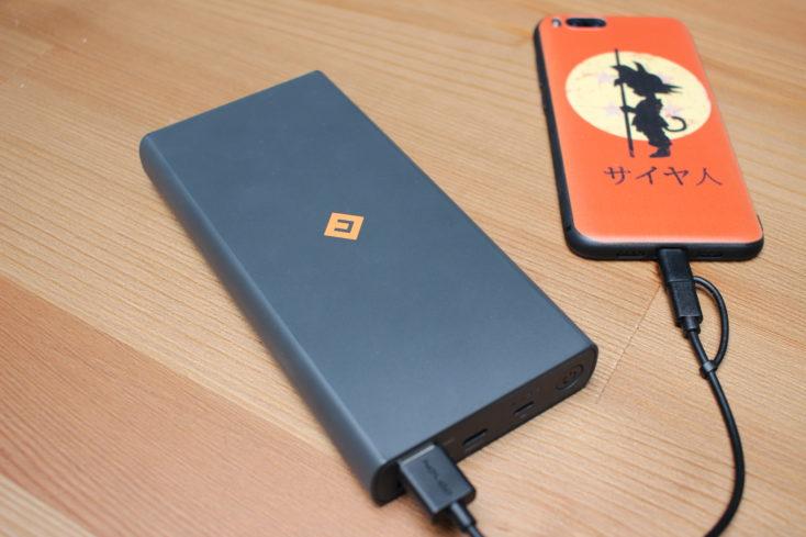 NOVOO Powerbank 20000 lädt Xiaomi Mi 6