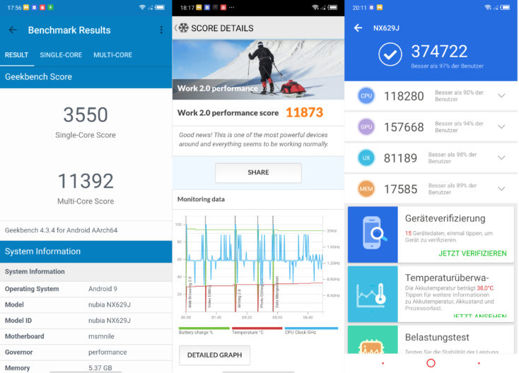 Nubia Red Magic 3 Benchmarks
