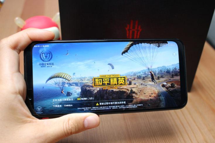 Nubia Red Magic 3 Schultertasten Gaming
