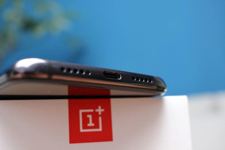 OnePlus 7 Lautsprecher USB-C