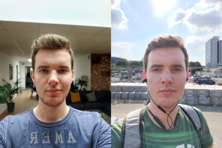 OnePlus 7 Portrait selfies