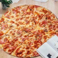 Pizza-Teppich