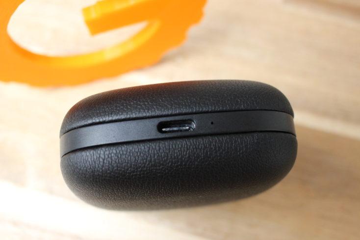 Tribit Flybuds USB-C Ladeanschluss