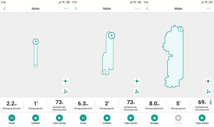 Trifo Ironpie M6 Saugroboter App Mapping