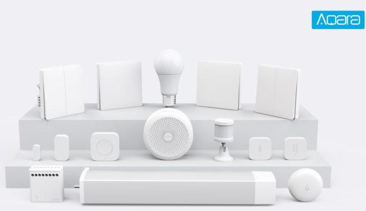 Xiaomi Aqara Smarthome-System Europa Geräte