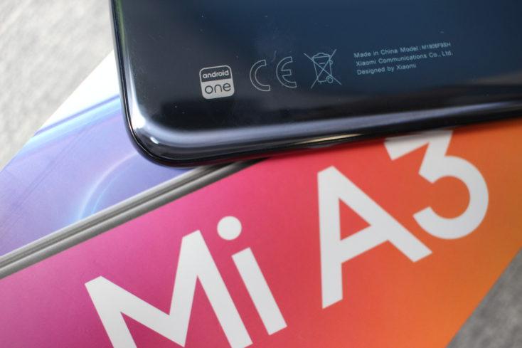 Xiaomi Mi A3 Android One CE Kennzeichen