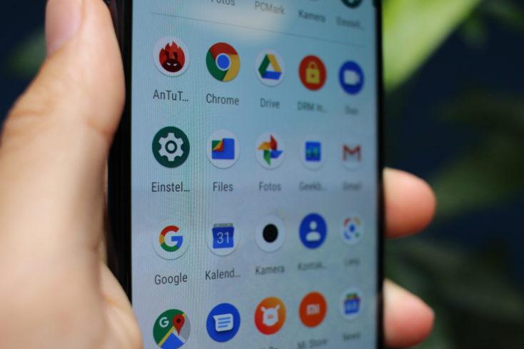 Xiaomi Mi A3 Display nah