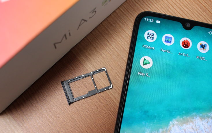 Xiaomi Mi A3 SIM Slot