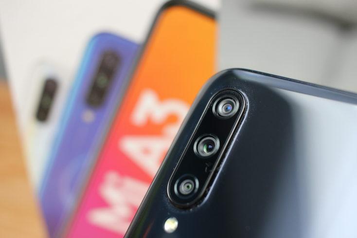 Xiaomi Mi A3 Triple Kamera