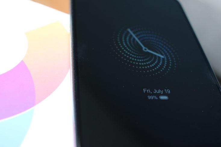 Xiaomi Mi CC9 Always On Display