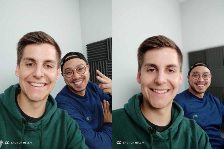 Xiaomi Mi CC9 Frontkamera Testfoto Gruppe Portrait