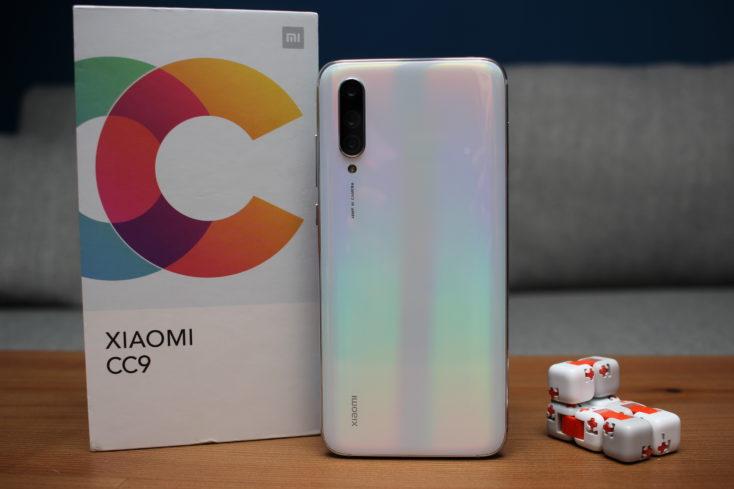 Xiaomi Mi CC9 Rückseite Weiß