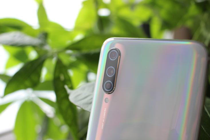 Xiaomi Mi CC9 Weiß Kamera