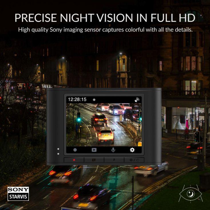 YI Nightscape Dashcam Nachtsicht