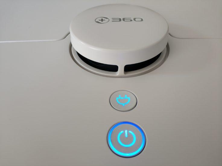 360 S7 Saugroboter LED-Buttons Bedienelemente