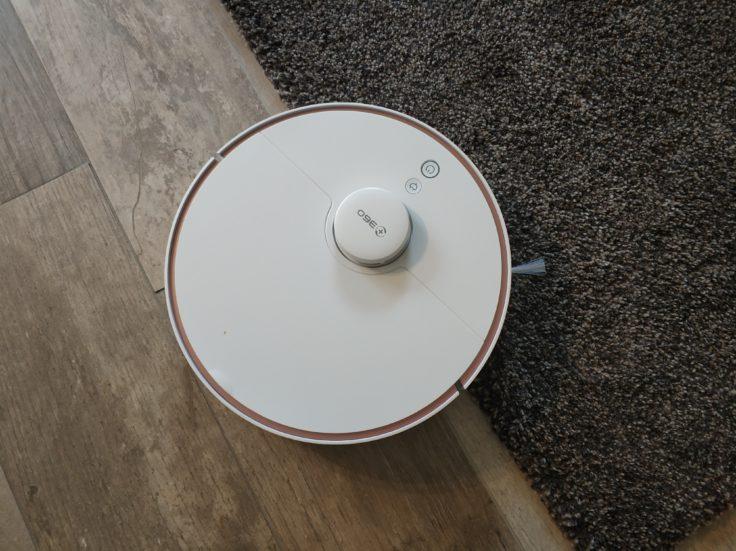 360 S7 Saugroboter Teppichkanten