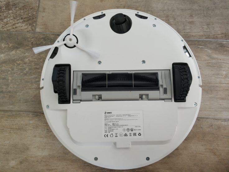 360 S7 Saugroboter Unterseite