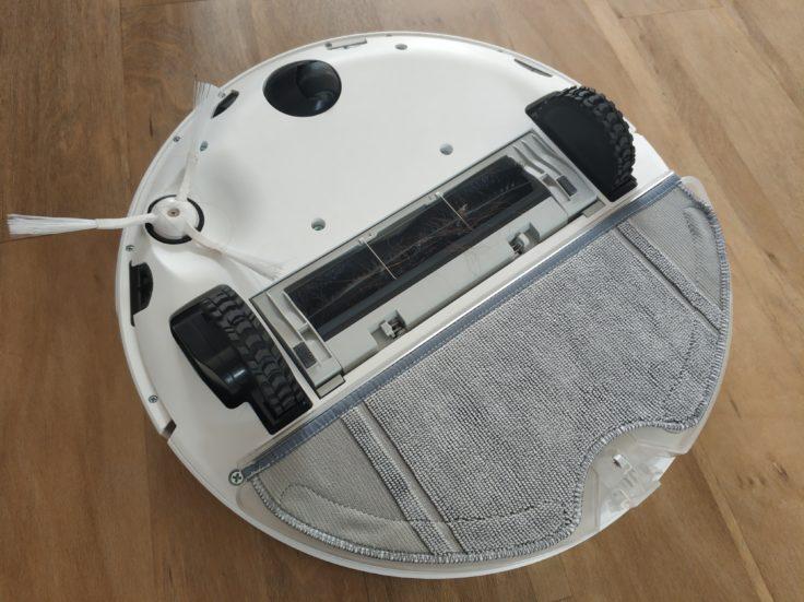 360 S7 Saugroboter Unterseite Wischfunktion