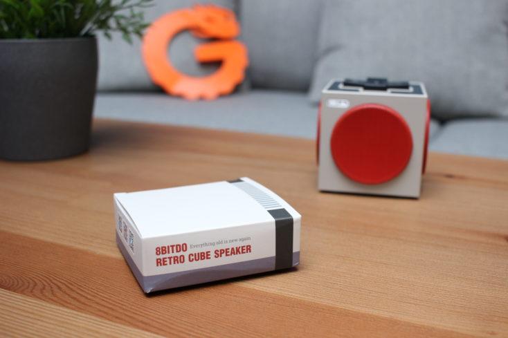 8Bitdo Retro Cube Speaker Karton